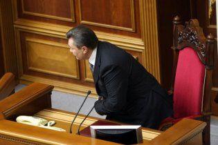 Янукович не зміг відкрити двері у своїй ложі