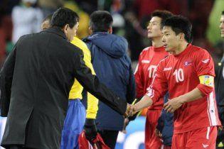 ФИФА запретила спрашивать у игроков и тренеров КНДР о политике