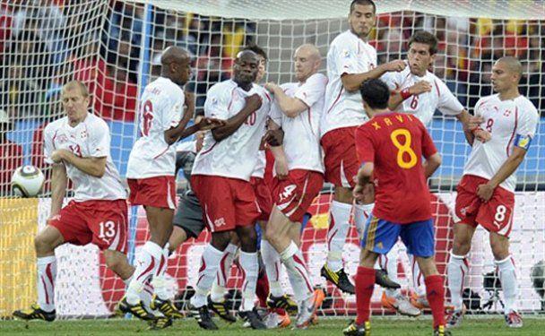 Швейцария сенсационно победила Испанию на чемпионате мира (видео)