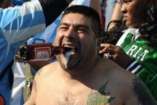 Аргентинських уболівальників депортують з ПАР