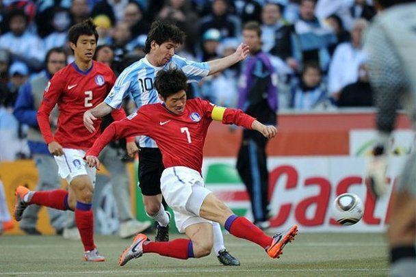 Аргентина розгромила Південну Корею (відео)