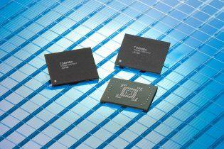 Toshiba розробила чіп з рекордним обсягом пам'яті