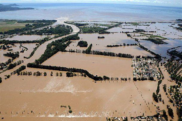 Руйнівна повінь на півдні Франції