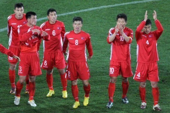 Футболісти збірної КНДР