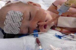 В Великобритании заморозили четырехмесячного младенца