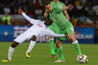 Англія осоромилась в матчі з Алжиром