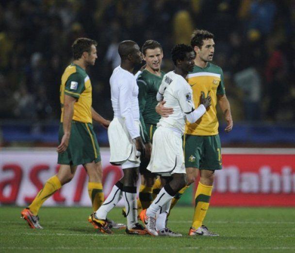 Австралія вистояла вдесятьох проти Гани (відео)
