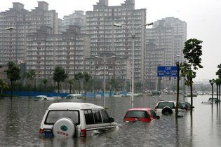 Из-за наводнений в Китае погибли 132 человека