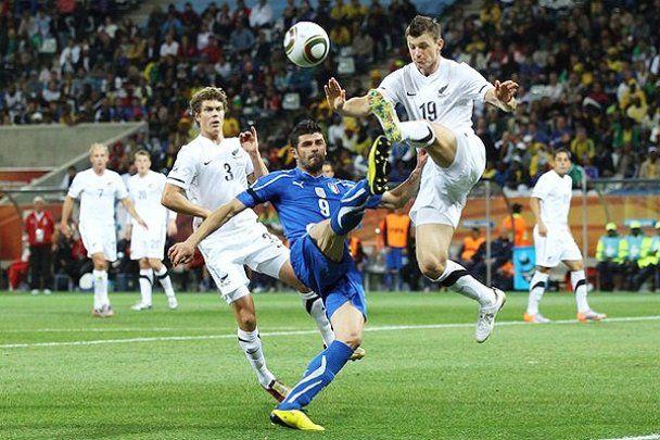 Сенсація! Італії не вдалося обіграти Нову Зеландію (відео)