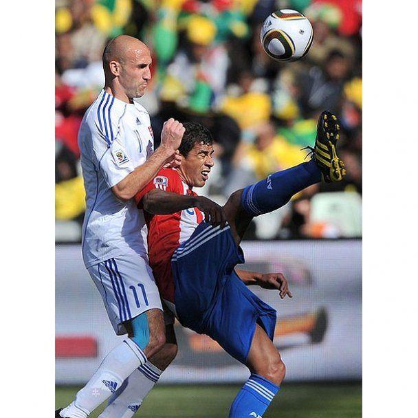 ЧС-2010. Парагвай впевнено переміг Словаччину (відео)
