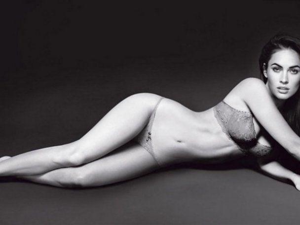 Меган Фокс рекламирует нижнее белье Armani