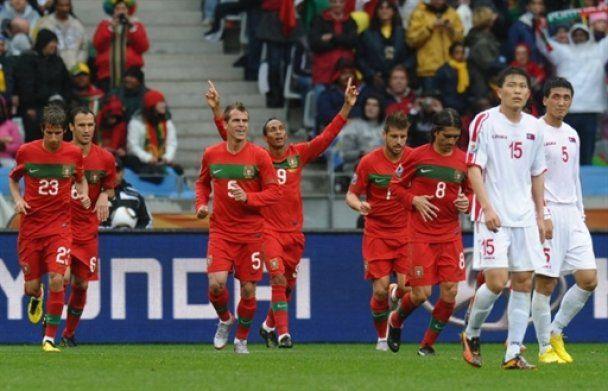 Португалия уничтожила КНДР со счетом 7:0 (видео)