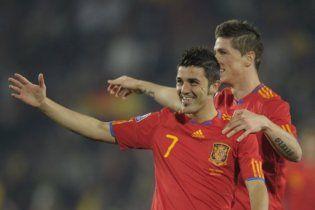 Іспанія впевнено перемогла Гондурас (відео)