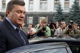 Милиция боится, что в Януковича чем-то  бросят