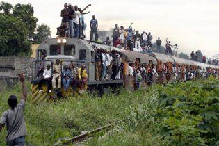 В Конго поезд упал в пропасть: 50 погибших