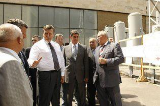 Янукович зробив географічний конфуз