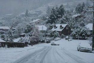 Новую Зеландию засыпало снегом