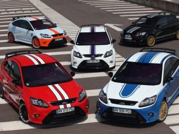 Ford выпустит пять специальных версий Focus RS Le Mans
