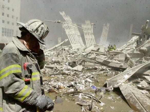 На місці теракту 11 вересня