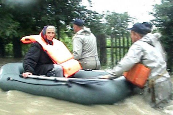 Буковина страдает от наводнения