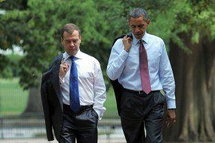 Мєдвєдєв і  Обама  дали  оцінку  підсумками співпраці Росії і США