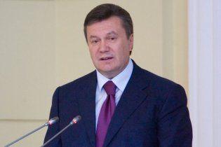 Янукович зліг з високою температурою