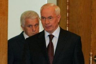 Азаров извинился перед Литвиным за критику в его адрес