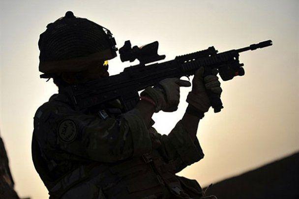 Будни военных в Афганистане