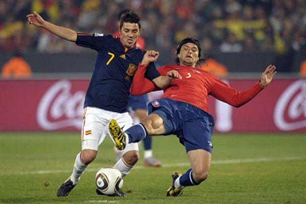 Испания победила Чили и выиграла группу H (видео)