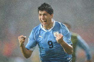 Уругвай вышел в четвертьфинал чемпионата мира (видео)
