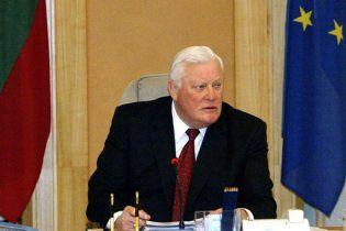 Помер колишній президент Литви Альгірдас Бразаускас