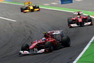 Формула-1. Феттель выиграл Гран-при Европы