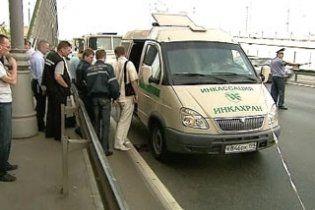 У вбитих  у центрі Москви інкасаторів вкрали 130 млн рублів