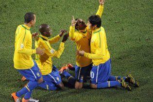 Бразилия разгромила Чили в 1/8 финала чемпионата мира (видео)
