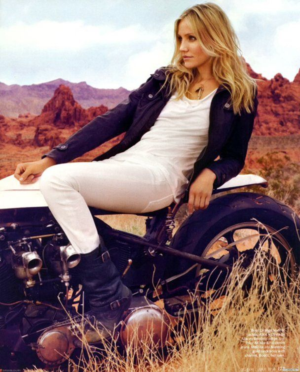 Вільна Камерон Діаз знялась у пустелі