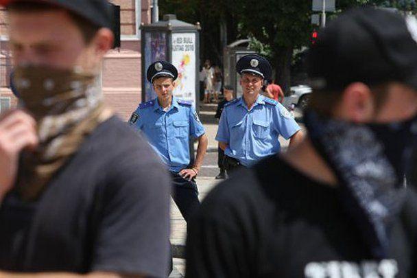"Акция протеста против ""полицейского государства"""