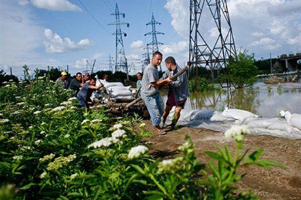 Румыния страдает от мощного наводнения