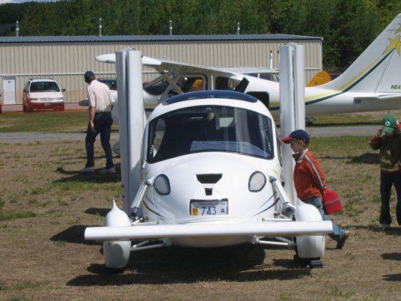 автомобиль Transition, який літає_7