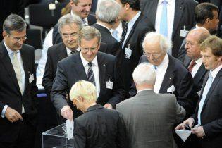 У Німеччині не обрали президента у першому турі