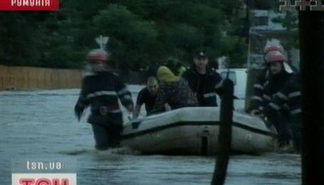 От высокой воды страдает Румыния