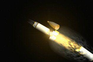 США запустили міжконтинентальну ракету з трьома боєголовками