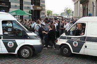 В Риге сорван профашистский марш