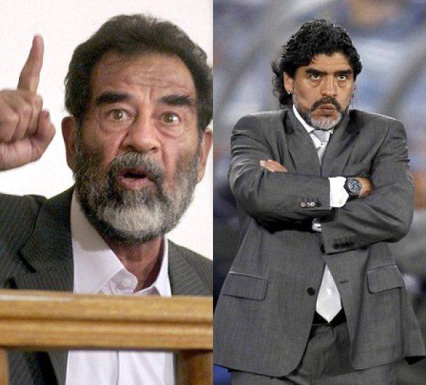 Дієго Марадону порівняли з Саддамом Хуcейном