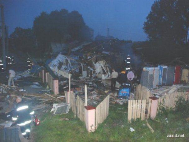 Во Львове взорвался магазин