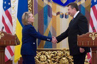 Клінтон дала певні рекомендації Януковичу і МЗС