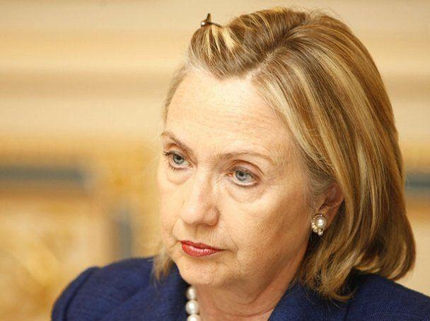 Хиллари Клинтон встретилась с Януковичем и Тимошенко