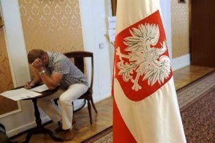 """В Польше """"день тишины"""" перед выборами президента"""