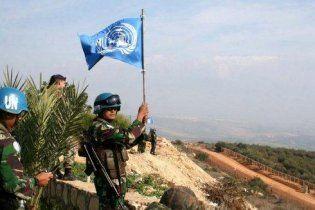 Ліванці обеззброїли патруль ООН, закидавши його яйцями