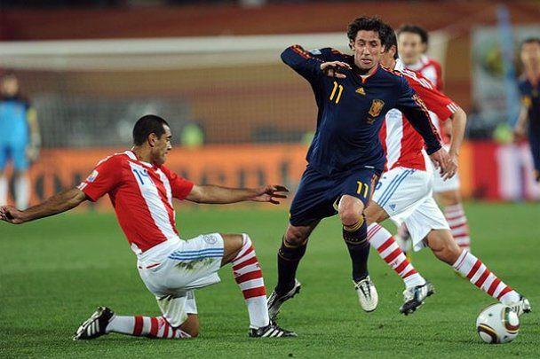 Второй четвертьфинал ЧМ-2010. Фотоотчет