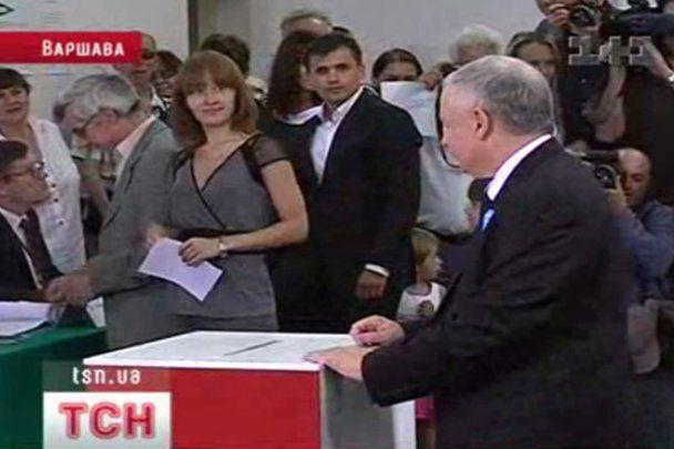 Качиньский поздравил Коморовского с победой на выборах